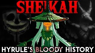 The Sheikah Monk's DARK ORIGINS | Zelda: Breath of the Wild Theory