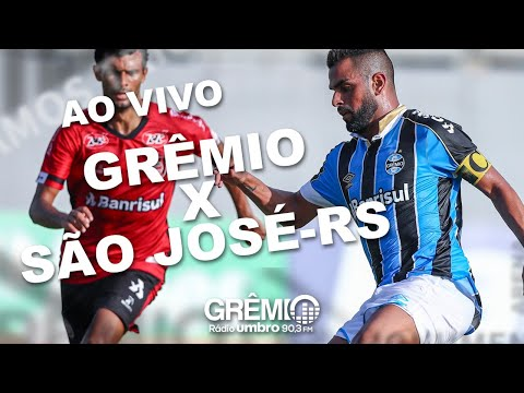 [AO VIVO] Grêmio x São José-RS (Gauchão 2020) l GrêmioTV