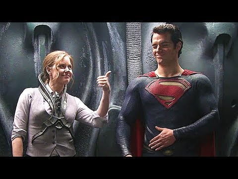 The Making Of 'Man Of Steel' Behind The Scenes