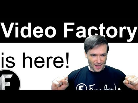 ★ Video Factory is here - Free for you, Freedom!