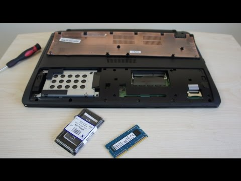 Asus X550jk Ram Memory Upgrade Youtube