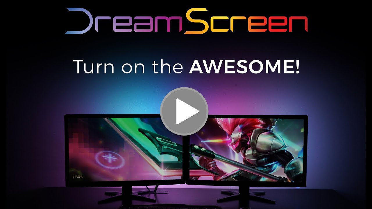DreamScreen Offers Affordable & Customizable Backlighting