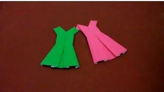 Cara Membuat Origami Baju Sekolah
