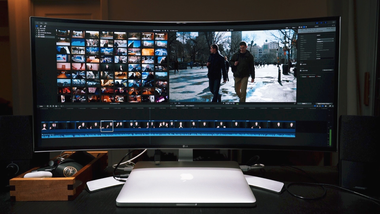 Best Video Editing Monitor - LG 34 Inch Curved Ultrawide Monitor Review