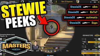 STEWIE2K PEEKS ARE INSANE!! DreamHack Masters Spring 2020 BEST MOMENTS - CSGO Highlights