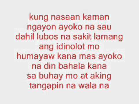 Di Bale Nalang Pusah Fiftyfive And Jcee lyrics