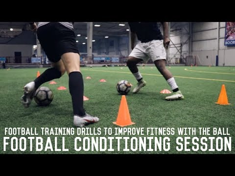 Football Conditioning Session | Improve Your Fitness With Th
