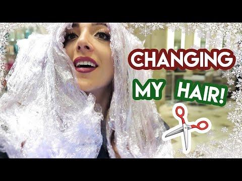 MY NEW HAIR!!! | Vlogmas Day 5 2016 Amelia Liana