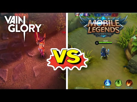 MOBILE LEGENDS VS VAINGLORY || Honest Comparison