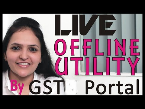 Exclusive | LIVE | GSTR1 | Offline Utility | by GST Network Portal | Part 2