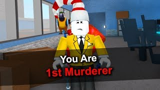 MURDERER FIRST ROUND IN MM2