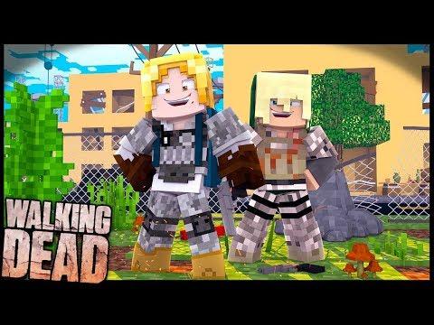 FICANDO OP!! - Walking Dead #DEIX: Minecraft
