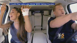 Ariana Grande Joins James Corden For Carpool Karaoke