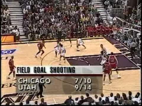 Michael Jordan Destroys Bryon Russell (1996)
