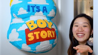 Our Official Nursery Reveal | Toy Story Theme