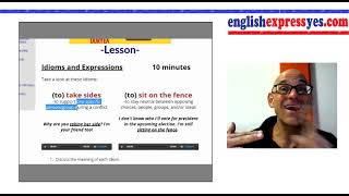 English Tutors: Use these 10 Conversation Lessons w/ your Students - English Conversation Lesson 2