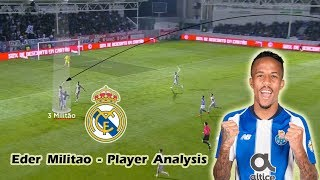 Eder Militao - Player Analysis - Welcome to Real Madrid
