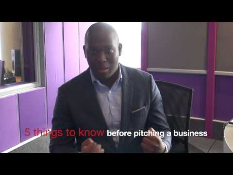 Vusi Thembekwayo -  5 things to know before pitching a business