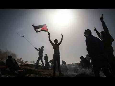 Gazze'de 'Büyük Dönüş Yürüyüşü'nde dördüncü cuma