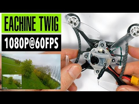 Eachine Twig 115mm Ultra Light FPV Quad // Caddx Baby Turtle 1080p // Full Review And Flight Footage