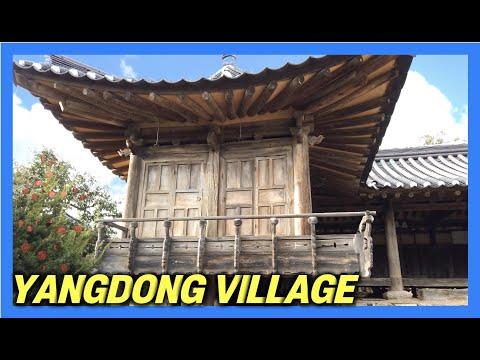 [4k]-time-travel-to-500-years-ago-양동마을-gyeongju-yangdong-village