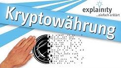 Kryptowährung einfach erklärt (explainity® Erklärvideo)