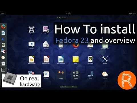 How To install Fedora 23 and overview | Freedom. Friends. Features. First.
