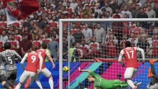 CRAZY WONDER GOAL ON FIFA 19 - Lingard Bicycle Kick