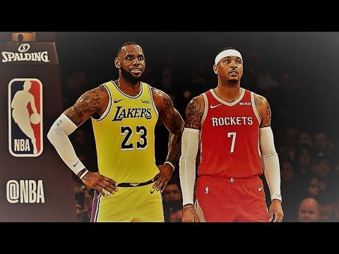 LeBron James Would Like To Play With Carmelo Anthony! NBA Spoken Blogs
