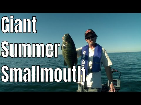 Giant Summer Smallmouth On Lake Simcoe  | Fish'n Canada