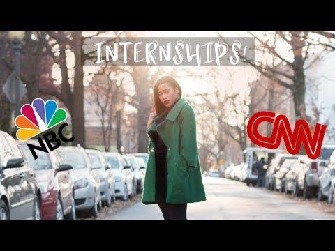 How I landed internships at CNN and NBC
