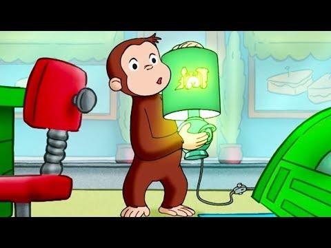 Curious George 🐵Train Of Light 🐵 Kids Cartoon 🐵 Kids Movies   Videos For Kids