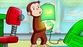 Curious George 🐵Train of Light 🐵 Kids Cartoon 🐵 Kids Movies | Videos for Kids