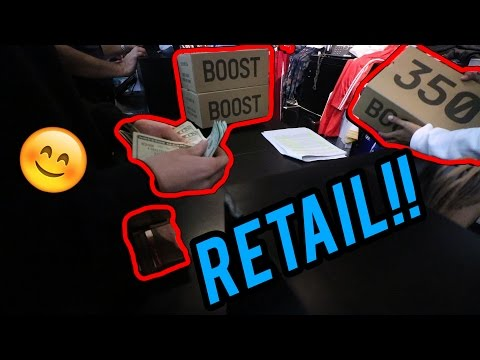DRIVING 12 HOURS TO BUY YEEZYS FOR RETAIL!!