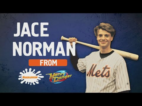 Jace Norman and Nelson Figueroa at Citi Field