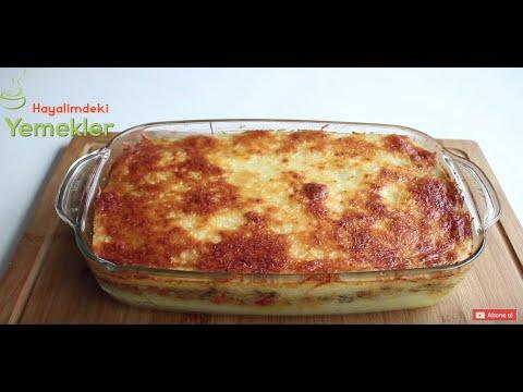 Fırında Kıymalı Patates Püresi Yemeği  - ANA YEMEK TARİFLERİ / İftar için Yemek Tarifi