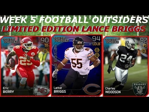 #MUT25 |  New Week 5 Football Outsiders | Limited Edition Lance Briggs, Charles Woodson & More