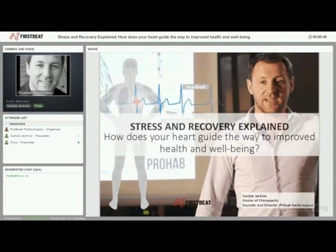 Stress and Recovery Explained: How does your heart guide the way to improved health and wellness?