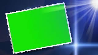 SPARKLE FRAME GREEN SCREEN EFFECT