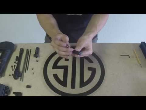 Sig Sauer MPX Complete Field Strip and Disassembly Tutorial Part 1