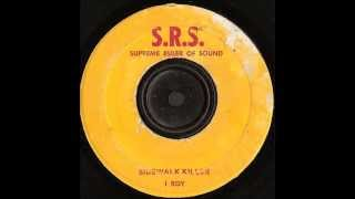 I Roy -   Sidewalk Killer  - SRS Supreme Ruler of Sound ‎ records