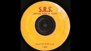 I Roy -   Sidewalk Killer  - SRS Supreme Ruler of Sound  records