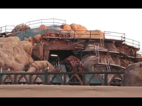 Seven Dwarfs Mine Train Ride Testing at Magic Kingdom in Walt Disney World (Opening in 2014)