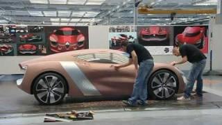 Renault Concept car DeZir general views of design genesis