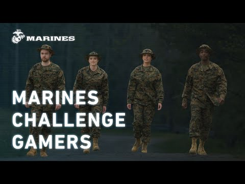 Marines Challenge Four Elite Gamers (Part 2 of 2) |