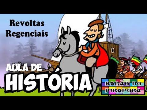 Aprendendo com Videoaulas: História: Revoltas Regenciais.