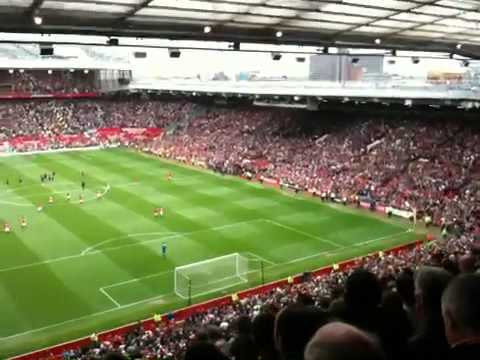 The Wayne Rooney Chant @ Old Trafford
