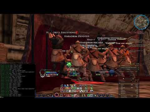 Keeping Up the Good Shape - LOTRO Guardian Lvl 115 T2C Ruined City Survival Test