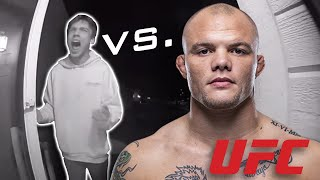 UFC Star Anthony Smith fights off home intruder