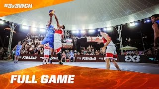 Indonesia vs Uruguay - Full Game - 2016 FIBA 3x3 World Championships